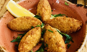 Portuguese Cod Fritters - Bacalhao